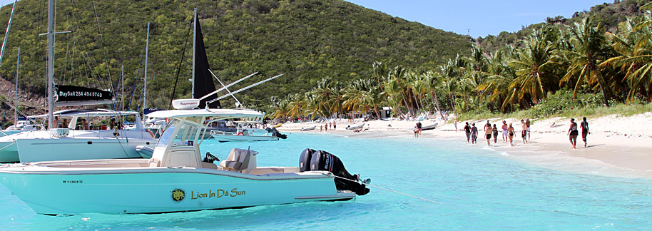 British Virgin Islands charter – luxurious freedom - True Blue Power Boats